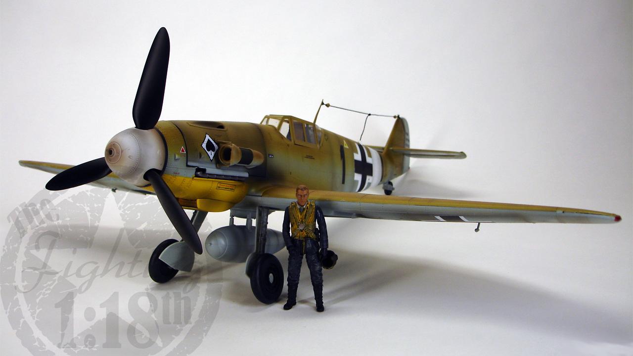 """Messerschmitt BF-109G2 Trop """"Black 1″"""