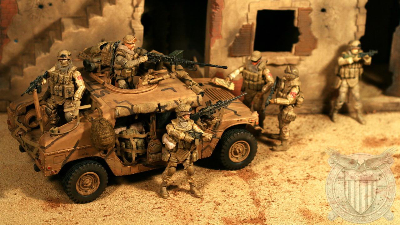 Diorama – 9SFG(A) – Combat Patrol