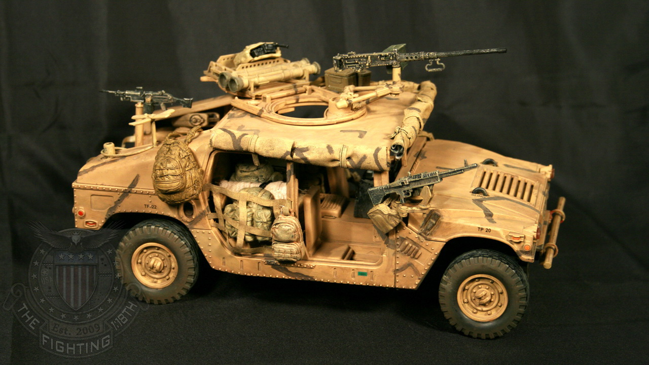 Custom Vehicles – 9SFG(A) – Special Operations HMMWV