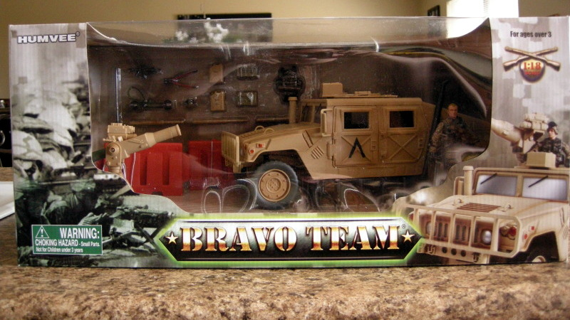 Bravo Team 1:18 HUMVEE – First look!