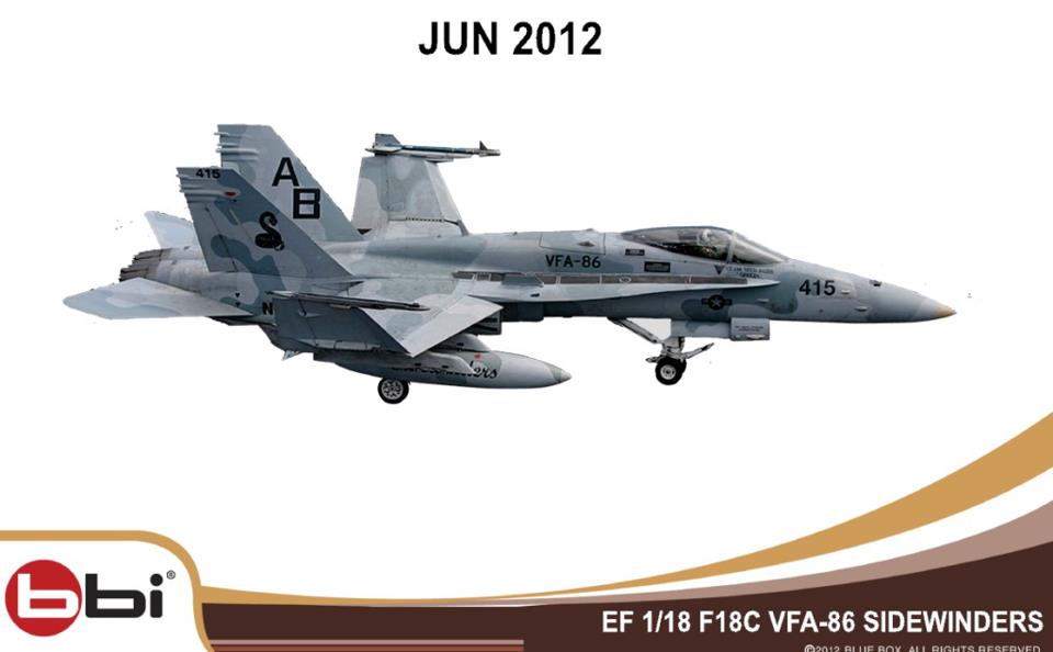 New 1:18 BBI F/A-18C updated!