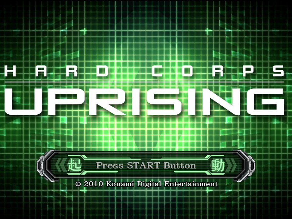 Hard Corps: Uprising Review