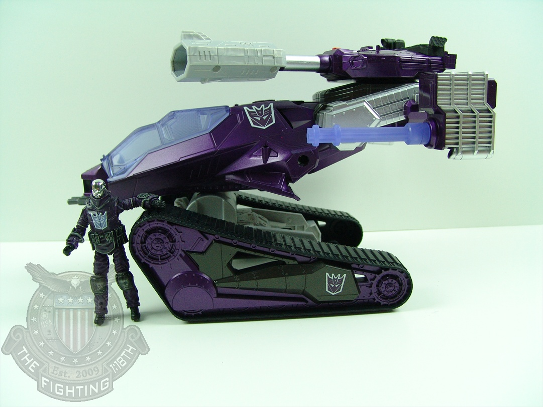 SDCC 2012 Shockwave HISS