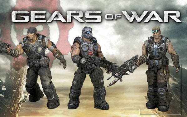NECA Gears of War First Look