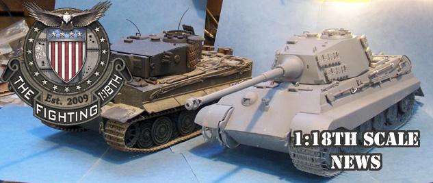 1:18 King Tiger – Prototype!