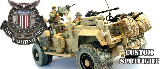 Custom Gun Truck by Rick