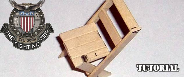 Make a 1:18 scale Chair