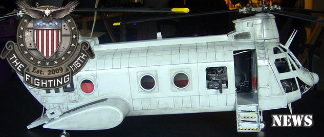 Win a Custom CH-46 Sea Knight!