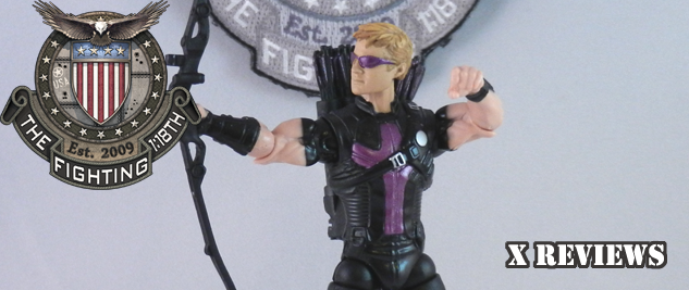 X Review: Avengers Assemble Hawkeye