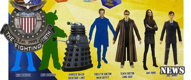Dr Who 1:18 News