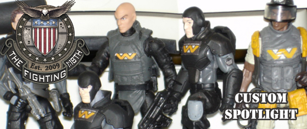 Weyland-Yutani Security Team By Dropshipbob