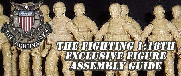 Fighting 1:18th Exclusive Figure Assembly Guide