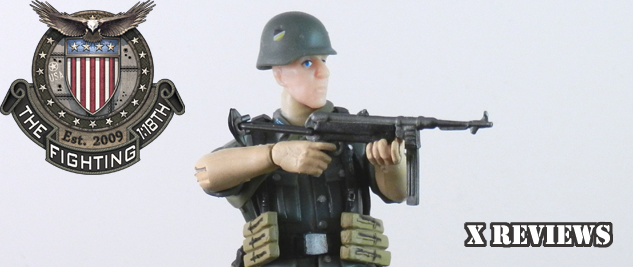 X Review: OurWar German Submachine Gunner