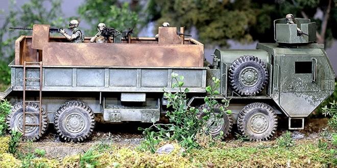 1:18 Scale News: Digler's Devils – Custom HEMTT Gun Truck