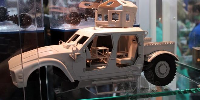 SDCC 2014 – Merit International 1:16 M-ATV – #SIZEMATTERS