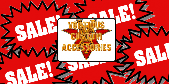 Vortious Custom Accessories Spooctacular Sale
