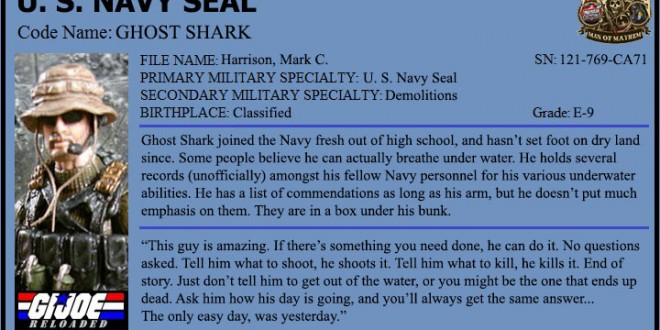 "[Spotlight] Navy Seal ""Ghost Shark"" by StarWarsGeek"