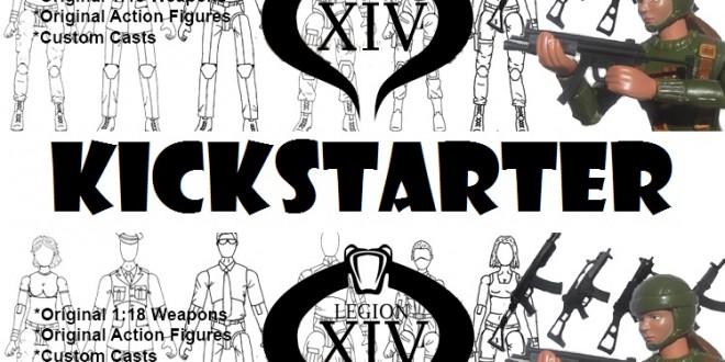 [NEWS] Legion XIV Female Soldier Kickstarter Live